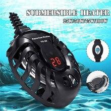 Canne pour chauffe-Aquarium, numérique, Mini régulateur de température automatique 220V, Submersible, pour réservoir de poissons, tortues et poissons