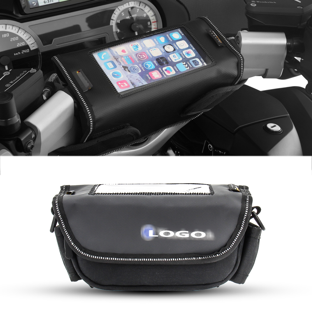 Motorcycle handlebar bag Phone holder Storage package For BMW R1200RT R1250RT K1600GTL R1100RT <font><b>R1150RT</b></font> R850RT R850R image