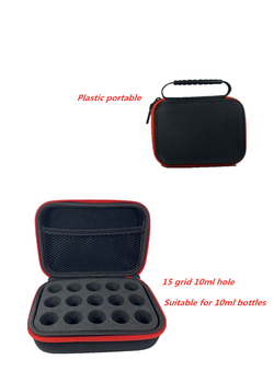 Portable 15bottles essential oil bag 10ml storage box for doterra bottle shockproof p