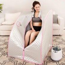 Паровая баня 4l 2000 Вт для дома спа паровая кабина похудения