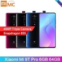 """Глобальная версия Xiaomi mi 9T Pro 6 ГБ 64 Гб мобильный телефон Snapdragon 855 48MP AI Тройная камера 4000 мАч 6,39 """"AMOLED дисплей mi UI 10"""