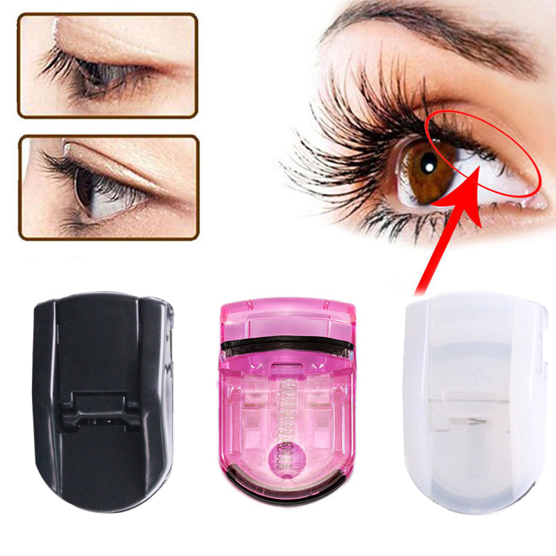 La Milee Professional Mini Eyelash Curler Portable Eye Lashes Curling Clip Cosmetic Makeup Tools Accessories 3 Colors