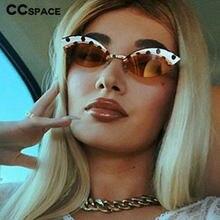 49175 liga sem aro pontos pretos impressão óculos de sol masculino moda feminina óculos uv400 vintage