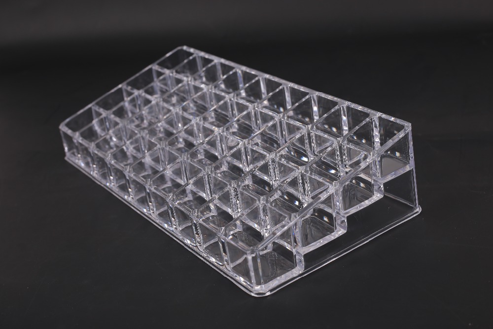 36 Grid Acrylic Tattoo Ink Holder Stand Permanent Tattooing Pigment Liquid Storage Lipstick Case Container Makeup Supplies