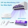 УФ стерилизатор светильник LED10W бактерицидные лампы УФС-стерилизатор, который убивает бактерии и появлению пылевых клещей для кондиционера...