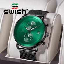 Swish мужские часы 2020 Роскошные relojes militares para hombre