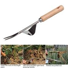 Кованого железа классический ручной прополки портативный прополки Инструмент Открытый Садовые принадлежности