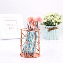 Stationery-Tube Brushing Container Pen-Holder Desk-Decoration Storage-Box Make-Up Office