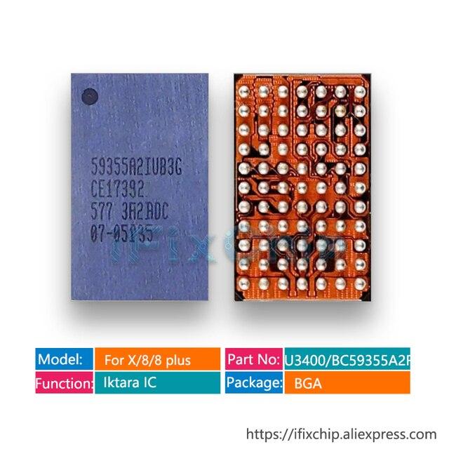 20 cái/lốc U3400 cho Iphone x/8/8 plus/8 Plus BCM59355A2IUB3G BC59355A2 sạc Không Dây Sạc Iktara VI MẠCH