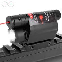 Тактическое оружие светильник светодиодный вспышка зеленый/red