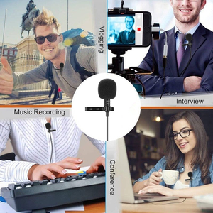 Image 4 - MEUYAG 3.5mm jack Mini Portable 1.5M Microphone Clip tie Collar Condenser audio Wired Mic For Computer Laptop For Mobile Phone