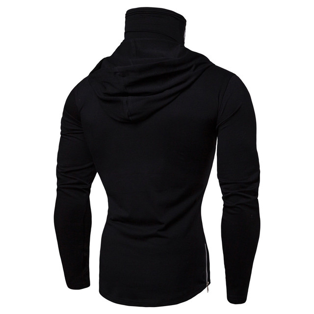 Pullover Hoodie with Mask 3