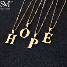 Stainless Steel A To Z 26 Letters Initial Minimalist Necklace For Women Alphabet Pendant Necklace Friends Family Gift Jewelry cheap Sam Maries Titanium Pendant Necklaces CN(Origin) TRENDY O-chain Metal Party 2 3cm Fashion SM2196G Party Birthday Anniversary Daily Gift Beach Travel Wedding