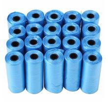 20 40 ロール/パック 600 個犬船尾バッグごみゴミ袋猫ペット廃棄物収集袋屋外クリーニング船尾バッグ用品