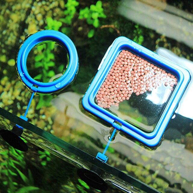 Фото 1 шт резервуар для воды плавающего рыбного корма кормления кольцо цена