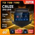 JIUYIN Type C автомобильный Радио Android Мультимедиа Видео плеер навигация для Chevrolet Cruze J300 J308 2012 - 2015 No 2din 2 din DVD
