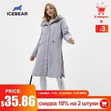 ICEbear 2020 kadın bahar ceket kaliteli kadın ceket uzun kadın parka marka giyim GWC20066I