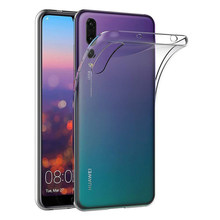 Ultra Thin Clear Silicone Telefoon Case Voor Huawei P40 Lite P30 Pro Tpu Transparant Back Cover Voor Huawei P20 P40 lite Fundas Coque(China)