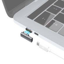 Magnetic USB C Adapter 24Pins Type C Connector Thunderbolt 3 PD 100W Fast Charging 40Gbp/s Converter for iPad MacBook Pro Switch