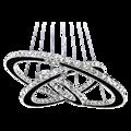 Хрустальная подвеска в виде кристаллов