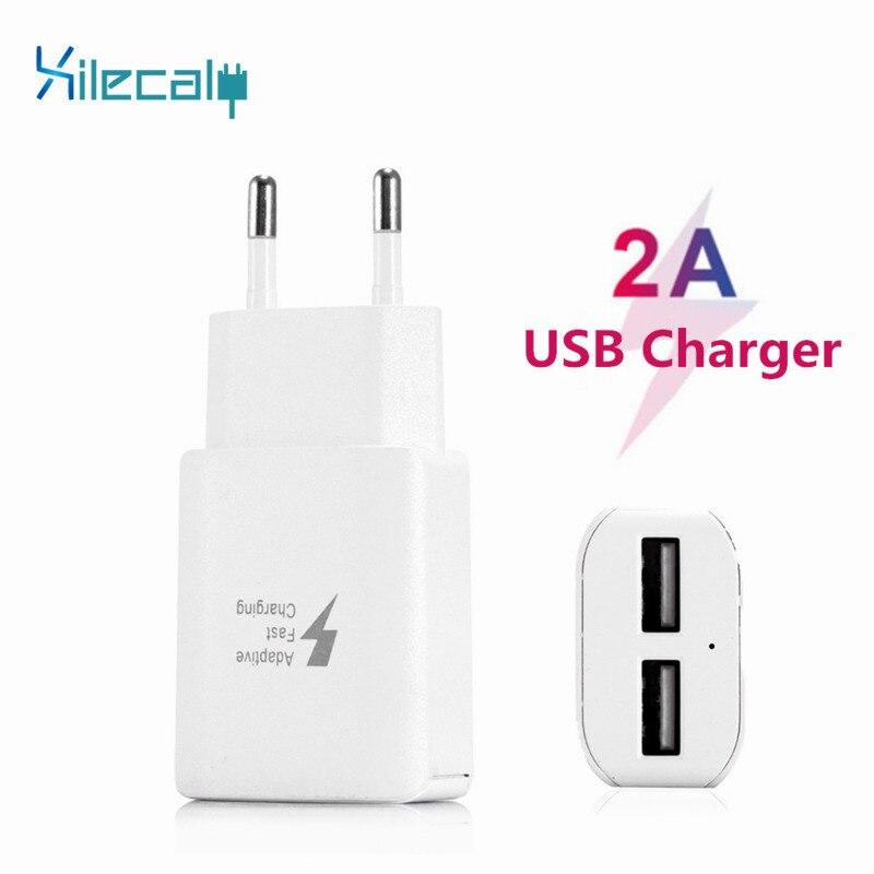 Phone-Charger Device Eu-Plug Data-Charging Mobile-Phone 2-Usb-Adapter Samsung 7-iPad