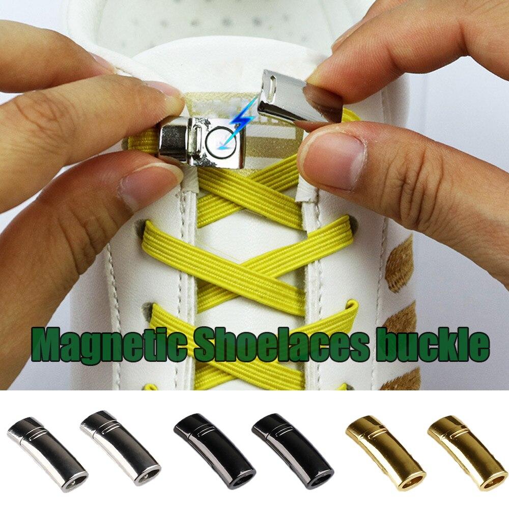 EIE Fashion Magnetic Shoelaces Elastic No Tie Shoe Laces Kids Adult Unisex Sneakers Shoelace Quick Lazy Laces Shoe Strings