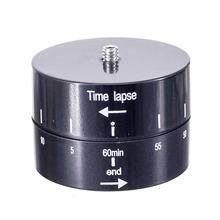Universal Time Lapse Shooting 60min Timer Rotate for Gopro 6 5 4 3+ For Xiaoyi Action Cameras Dslr Camera Tripod(China)