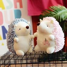Игрушек! Милый плюшевый игрушечное животное пара Ежик мягкая кукла Дети аппетитная игрушка креативный подарок на день рождения Рождество