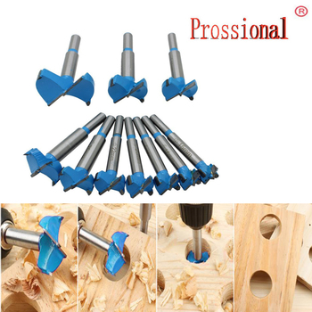 цена на Professional 10pcs 15-50mm Carbide Woodworking Hole Saw Forstner Woodworking Hole Saw Cutter Drill Bits Boring Hole Opener