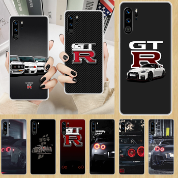 sports car Nissan Skyline Gtr Phone Case hull For HUAWEI p 8 9 10 20 30 40 smart Lite 2017 19 Pro Z transparent hoesjes pretty image