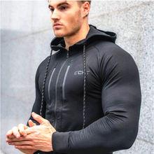 Мускулистая эстетика Свитшот мужской пуловер с длинным рукавом