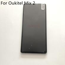 Oukitel Mix 2 Gebruikt Lcd scherm + Touch Screen + Frame Voor Oukitel Mix 2 MT6757/Helio P25 5.99 Inch 2160X1080 Smartphone