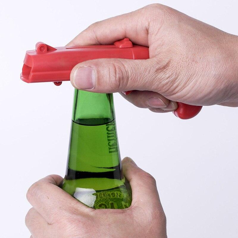 Beer Bottle Opener Cap Launcher Shooting Type Drink Openers Tool TN88