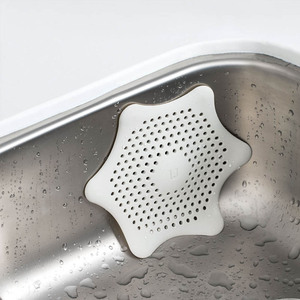 Image 3 - Xiaomi Kitchen Drains Sink Washbasin Strainers Drain Hair Colander For Bathroom Kitchen Cleaning Sink Filter Accessories Gadgets