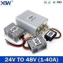 DC/DC 24V 48V 1A 3A 5A 6A 8A 10A 20A 40A импульсный повышающий Питание конвертер постоянного тока регулятор Водонепроницаемый для автомобиля