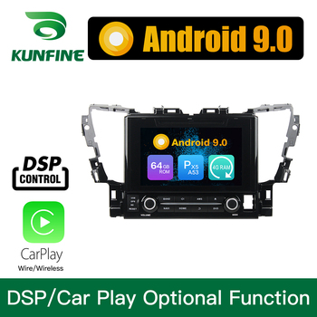 Android 9.0 Octa Core 4GB RAM 64GB ROM Car DVD GPS Navigation Multimedia Player Car Stereo for Toyota Alphard 2015 Radio