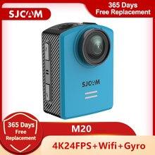 Orijinal SJCAM M20 eylem kamera sualtı 4K Wifi Gyro Mini kamera 2160P HD 16MP 30M su geçirmez spor DV