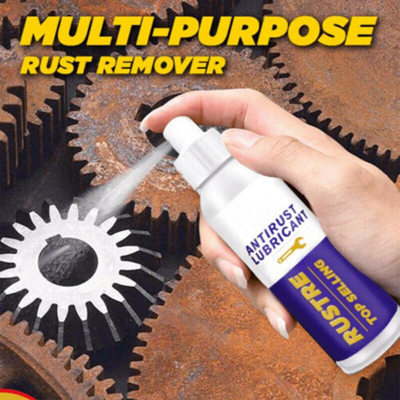 100ml Rustre Multi-purpose Rust Remover Derusting Spray Car Maintenance Cleaning Rust Inhibitor Derusting Spray Paint Care