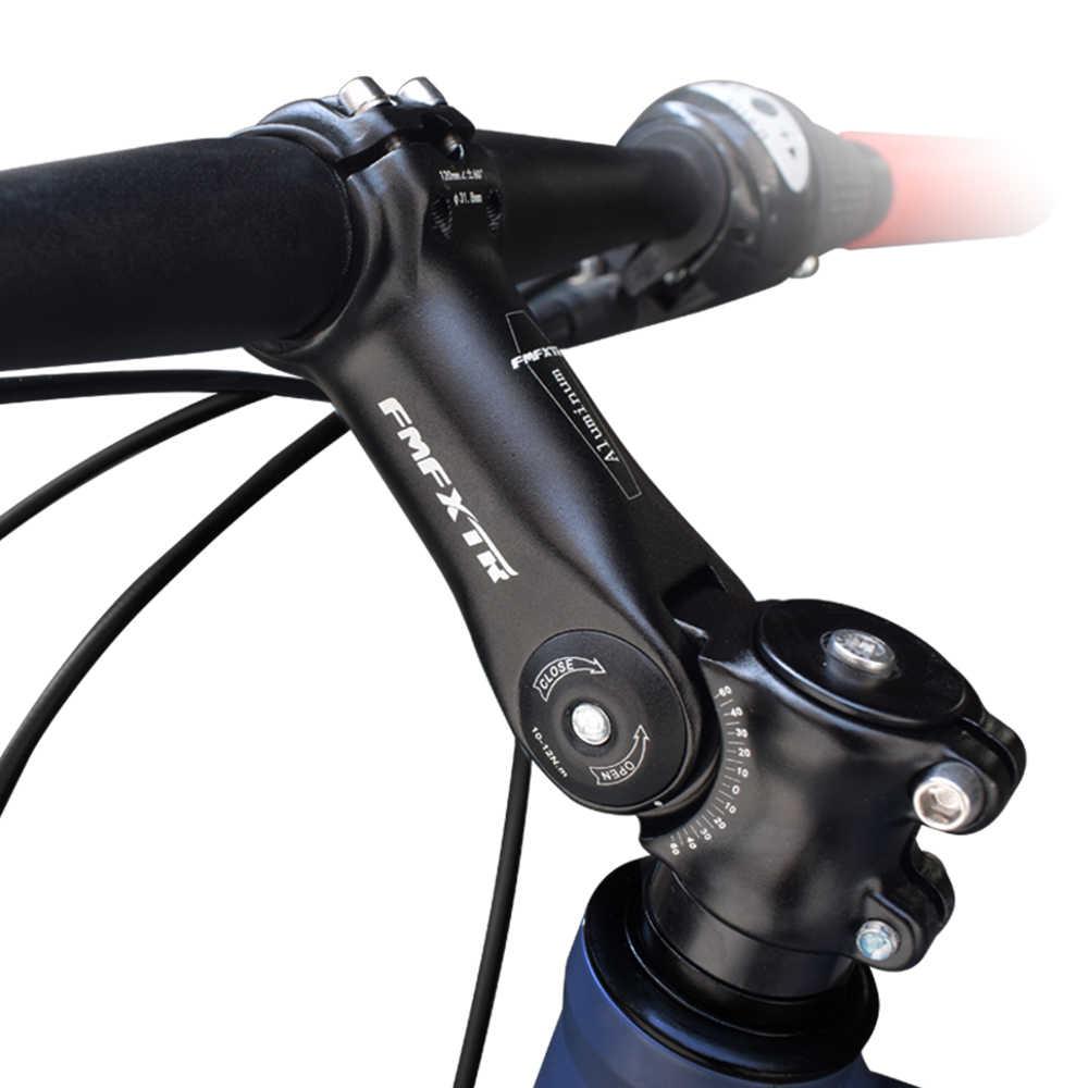 Metal Cycling MTB Road Bicycle Bike Handlebar High Riser Bar 25.4mm /& Stem