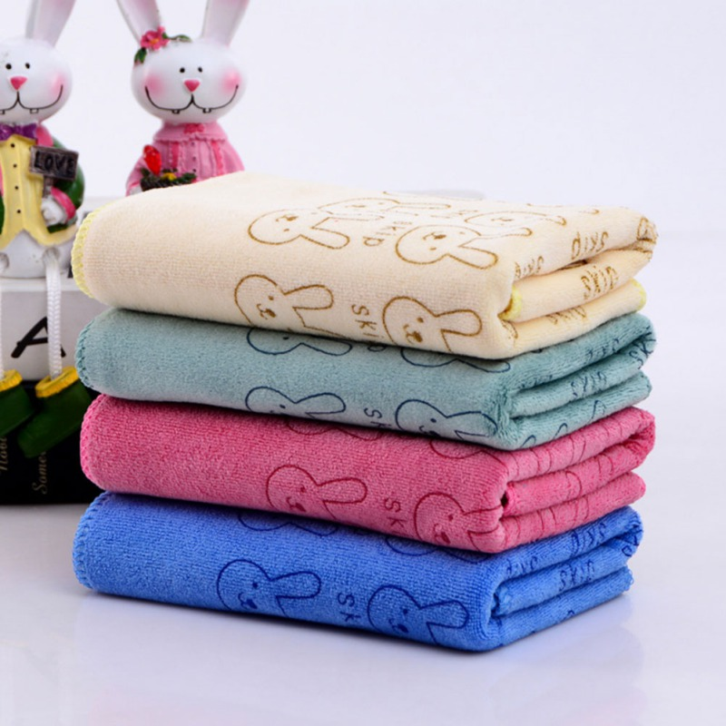 35*75cm Microfiber Car Cleaning Cloths Car Wash Towels Clean Without Chemicals High Absorbent