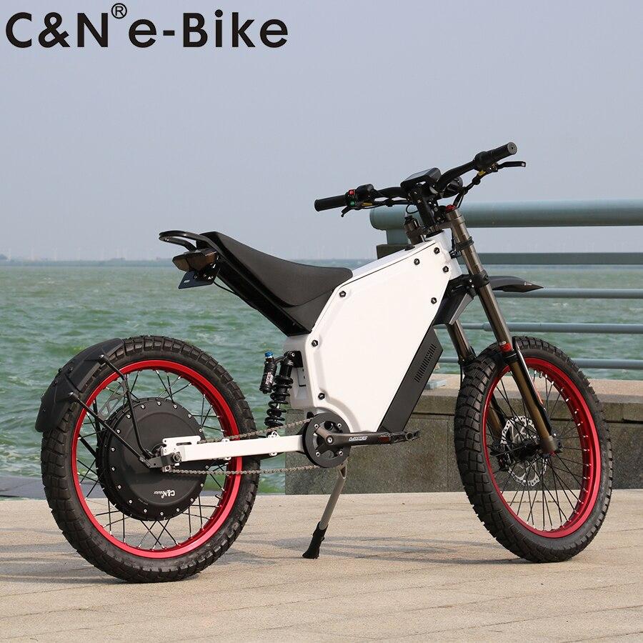 2020 Program 72v 8000w Enduro Ebike Electric Bicycle Bike Electric Mountain Bike Hot Sale