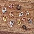 Застежки-карабины для браслетов и ожерелий, 10-21 мм, 1 упаковка