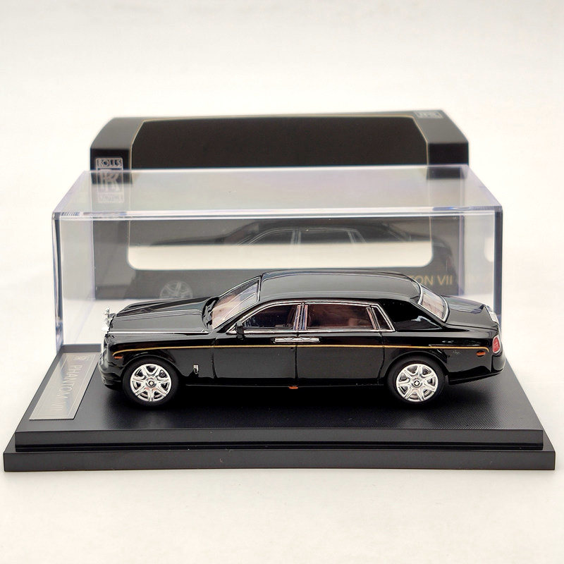 1:64 Rolls-Royce Phantom VII Black Diecast Models Limited Edition Collection