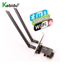 Wifi 6 Card Pcie Bluetooth Intel Ax200 2--8dbi-Antenna Wireless-Adapter Dual-Band 3000mbps