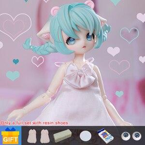 Shuga Фея Аня 1/6 BJD кукла аниме фигурка Смола игрушки для детей Сюрприз подарок для девочек день рождения полный набор аксессуаров