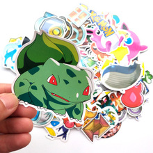 95pcs Pokemon Psyduck Cartoon Stickers Waterproof Vinyl Decal for Laptop Helmet Bicycle Luggage Guitar Car Children Stickers Toy
