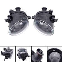 цена на 1 Pair Front LED Car Fog Light Fog Lamp LED Car Light Fit For VW Golf 5 A5 MK5 R32 2004 2005 2006 2007 2008 2009