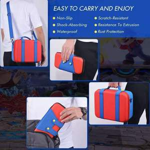 Image 3 - Dla Nintendo Switch Big Case przełącznik do Nintendo NS akcesoria konsola podręczny schowek pokrywa torba na rękę Box na przełącznik Nintendo