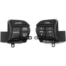 Controle do interruptor do volante do carro para honda tsx 09-10 spirior 2009-2013 35880-tl0-e01 36770-tl0-e01