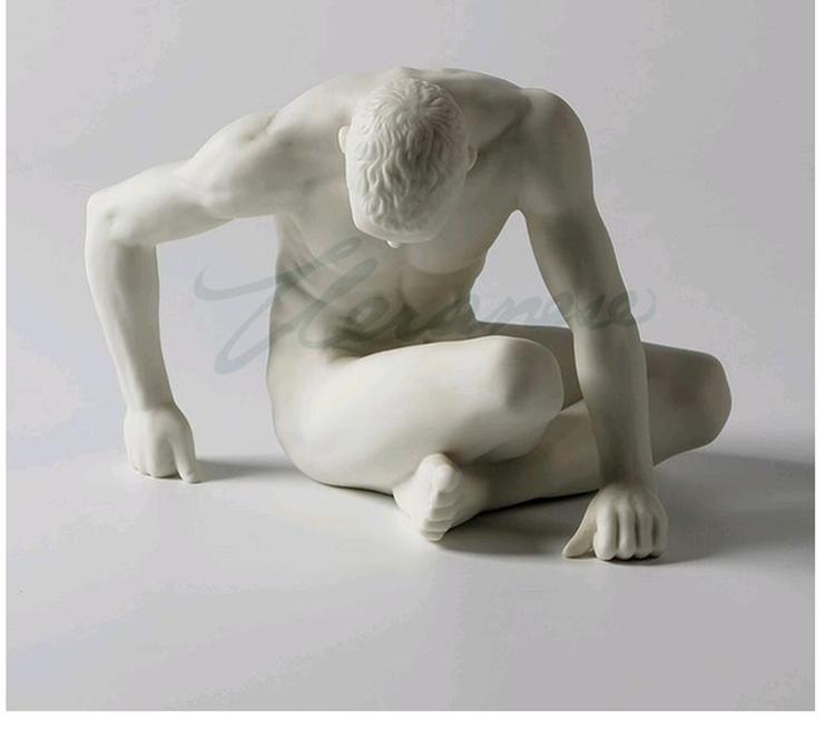 homem escultura presente de aniversário arte decoração para casa venda quente